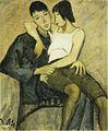Otto Mueller - Sitzendes Paar (ca.1920).jpg