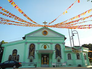 Sison, Pangasinan - Shrine of Our Lady of Mount Carmel