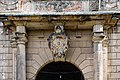 PL-DS, pow. wołowski, gm. Wołów, Lubiąż, pl. Klasztorny; Zespół opactwa cystersów- pałac opatów (fragment portalu); A-2755-616-W, 99, 319.jpg