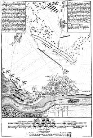 Battle of Warsaw (1705) - Initial battle plan