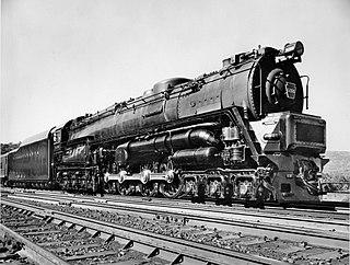 Pennsylvania Railroad class S2 class of 1 American experimental 6-8-6 steam turbine locomotive