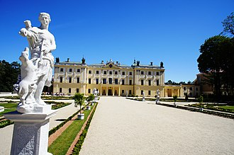 "Białystok - Branicki Palace, also known as the ""Polish Versailles""."