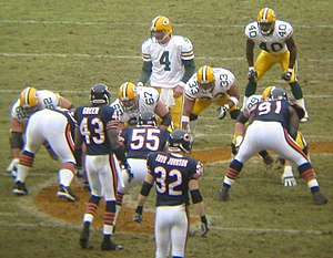 Todd Johnson - Johnson (32) against the Packers