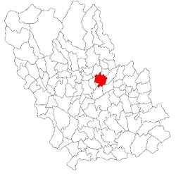 Vị trí của Pacureti