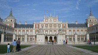 Treaty of Aranjuez (1779) - The Royal Palace in Aranjuez where the Treaty was signed