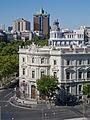 Palacio de Linares, paseo de Recoletos y Torres de Colón.jpg