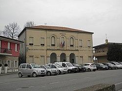 Palazzina municipale (Megliadino San Vitale).JPG