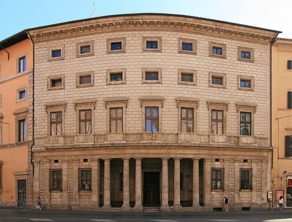 Palazzo Massimo alle Colonne (Baldassarre Peruzzi), em Roma.