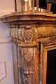 Palazzo tornabuoni, sala dell'alcova, camino con stemmi corsi e salviati 01.JPG