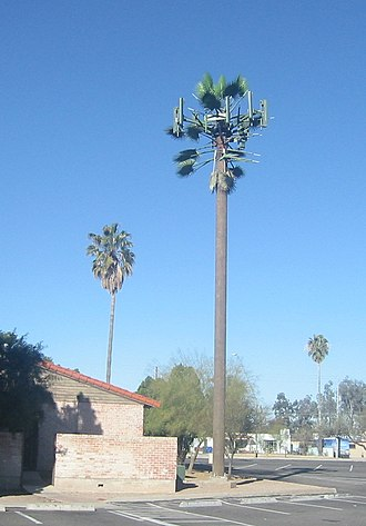 Base station - Image: Palm Cell Tower