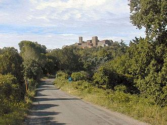 Vetulonia - View of Vetulonia