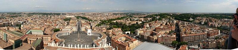 File:Panorama vom Petersdom.jpg