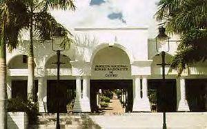Panteón Nacional Román Baldorioty de Castro - The Panteón Nacional Román Baldorioty de Castro, previously known as Cementerio Antiguo de Ponce (looking north)