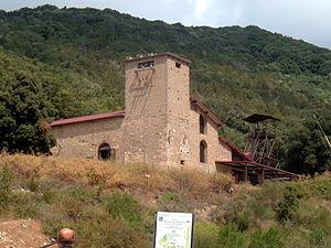 Parco Archeominerario di San Silvestro - Parco archeominerario di San Silvestro: Museum of mining machinery.