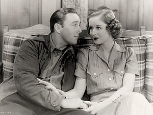 George O'Brien (actor) - O'Brien and Beatrice Roberts in Park Avenue Logger, 1937