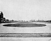 Park Avenue Median Norwood Ohio Looking West 1894
