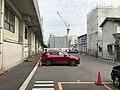 Parking area behide Sumiyoshi-Koen Station.jpg