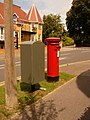 Parkstone, postbox No. BH14 64, Wyndham Road - geograph.org.uk - 1444907.jpg