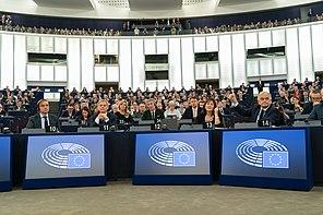 Vote au parlement européen en 2019