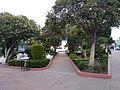 Parque de Calpulalpan, Tlaxcala cerrado durante la Pandemia de COVID-19 02.jpg