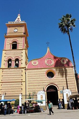 Mizque Municipality - Church of Mizque