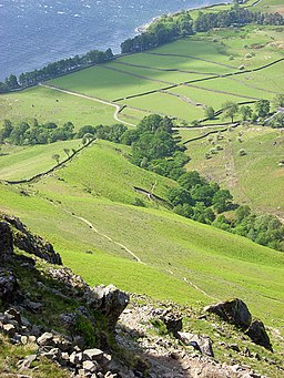 Path descending from Yewbarrow to Wast Water - geograph.org.uk - 828951