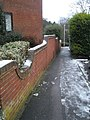 Path from Sandringham Road about to join the footpath to Highfield Road - geograph.org.uk - 1630947.jpg