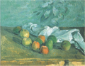 Paul Cezanne - Pommes Et Serviette.png