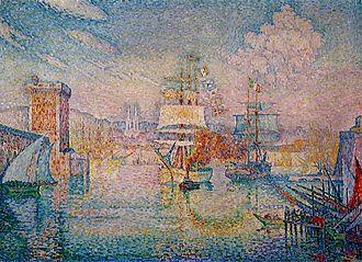 Musée Cantini - Paul Signac, L'entrée du port de Marseille, 1911, oil on canvas, 116.7 x 162 cm
