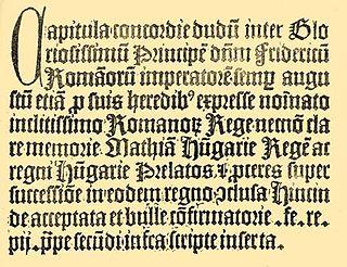 Peace Treaty of Wiener Neustadt 1463 peace treaty between Hungary and the Holy Roman Empire
