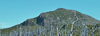 Mount Sedgwick (Tasmania) - Image: Peak of Sedgwick, 1970s