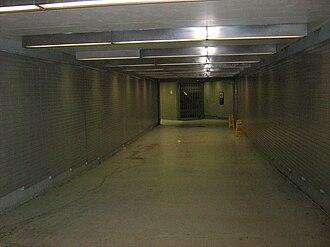 Chicago Pedway - An underground Pedway tunnel