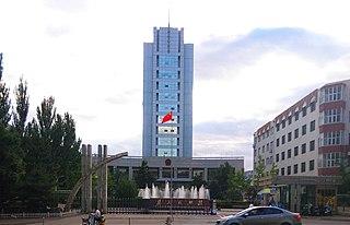 Qiaodong District, Zhangjiakou District in Hebei, Peoples Republic of China