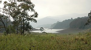 Racha (film) - Periyar National Park in Kerala where the film's shoot was initially disrupted and later resumed.