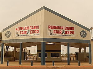 Ector County Coliseum - The Permain Basin Fair is held each year at the Ector County Coliseum.