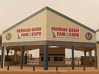 Ector County Coliseum - The Permain Basin Fair is held each year at the Ector County Coliseum.