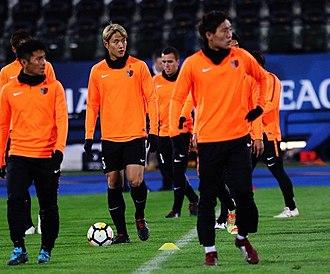 Kashima Antlers - Kashima players training at Azadi Stadium