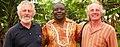 Peter Bradley (Son of School Founder) with Former School Principal Mr. Edwin Namachanja.jpg