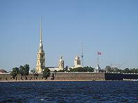 המבצר ובמרכזו נראה צריח הקתדרלה, 2007