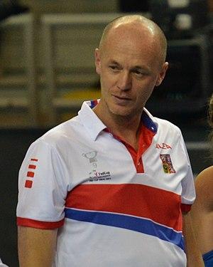 Petr Pála - Petr Pála after the 2016 Fed Cup final