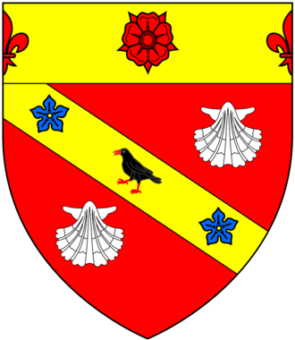 William Petre - Image: Petre Arms With Chief