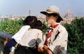 Pfadfinderstamm Ägypten, Internationales Sommerlager bei Arlia nahe Fivizzano, Toskana, Italien, 1993 - Blick auf Florenz.png