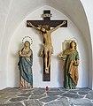Pfarrkirche St Georg in Lüsen Kreuzigung Südtirol.jpg