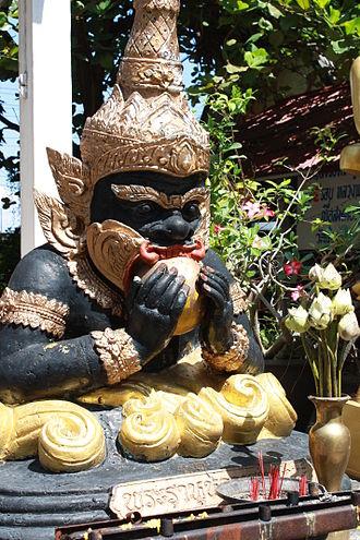 Rahu - Image: Pharahu in Thailand