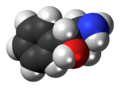 Phenylpropanolamine molecule spacefill.png
