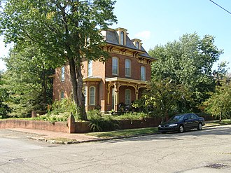 National Register of Historic Places listings in Ashland County, Ohio - Image: Philip J Black Hse P9020182
