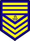 Philippine Coast Guard Chief Petty Officer Rank Insignia