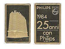 La sede della Philips S.p.a. in piazza IV Novembre, 3 a Milano