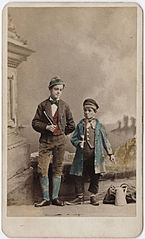Photograph of two boys with flutes.jpg