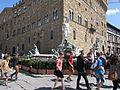 Piazza della Signoria din Florenta8 - Fantana lui Neptun.jpg